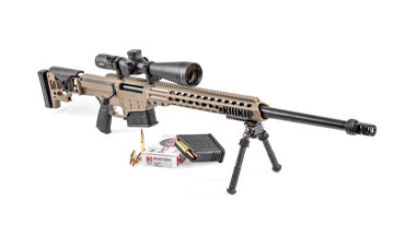 The Barrett MRAD was designated to be the U.S. Army's and Marine Corps' next standard-­issue sniper rifle.