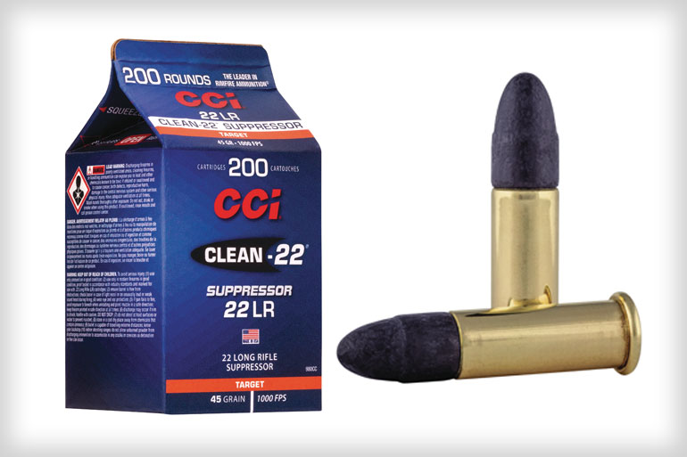 CCI Clean-22 Suppressor .22 LR Cartons