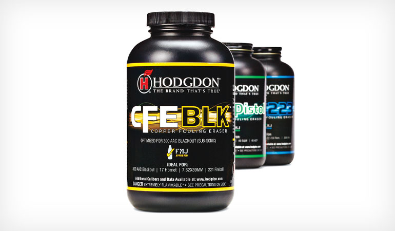 Hodgdon CFE BLK: Best Varmint Cartridge Loads