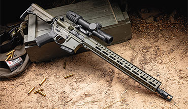 The CMMG Resolute 300 is the first AR-type rifle to chamber .350 legend.
