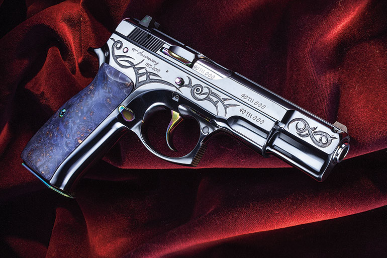 CZ 75 B 40th Anniversary Limited Edition (2015)