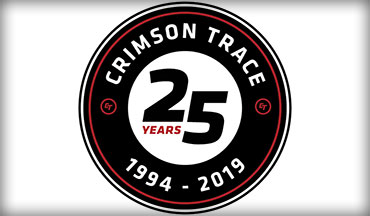This Friday is officially 25 years for Crimson Trace.