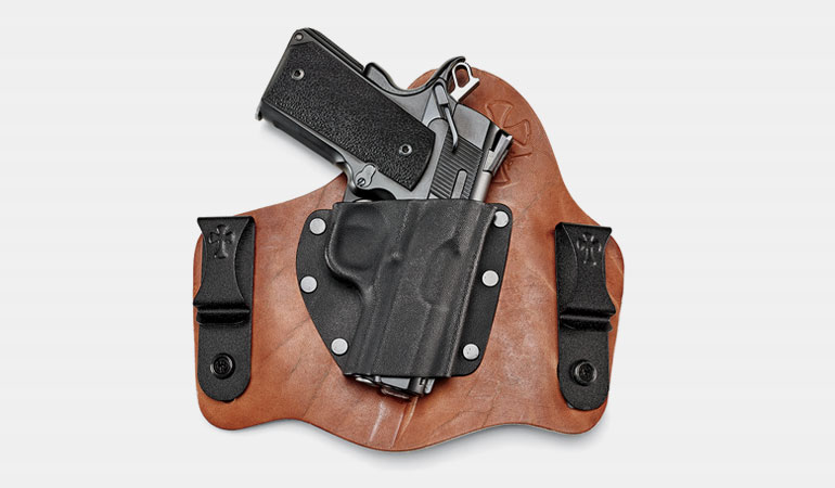 The Founder's Series holsters and belts are incredibly attractive, comfortable and easy to live with.