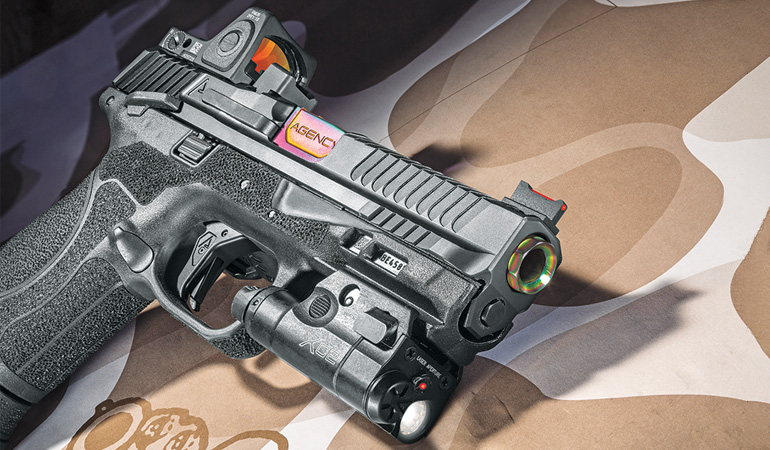 Agency Arms customizes a Smith & Wesson M&P9 2.0 Compact ' and a duty-gun owner gets his first custom pistol.
