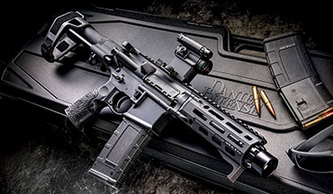 Anyone interested in a firearm for personal defense should consider the new Daniel Defense DDM4 PDW. While it certainly looks unconventional for a pistol, the PDW has a number of features that make it suited for home defense and concealed carry while still maintaining all the legal protections of a pistol.
