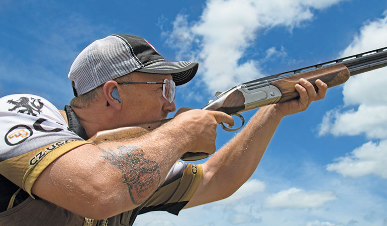 On May 16, 2015, Dave Miller set the Guinness World Record for most clays shot in one hour.