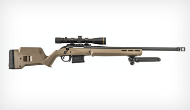 Building on the Ruger American's success­ful foundation, Ruger, Davidson's and Magpul have teamed up to create an exclusive version of the Ruger American Rifle Hunter that is tailored to the long-range shooter.