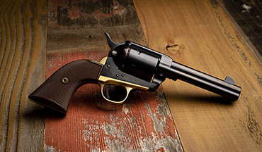 Davidson's has teamed with Pietta, Italy, to create an Exclusive 1873 single-action revolver in two calibers.
