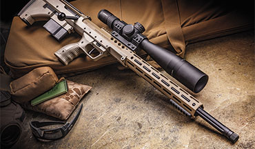 The unique aspects of the magazine capacity, the ease with which it handles mirage and its extreme portability make the Desert Tech SRS A2 an excellent choice for anyone looking for a long-range precision rifle.