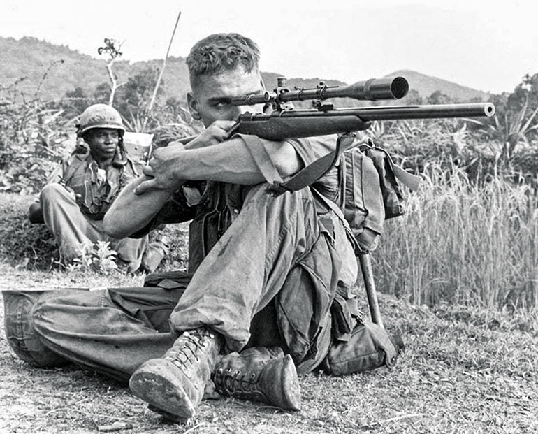 Early Vietnam Sniping