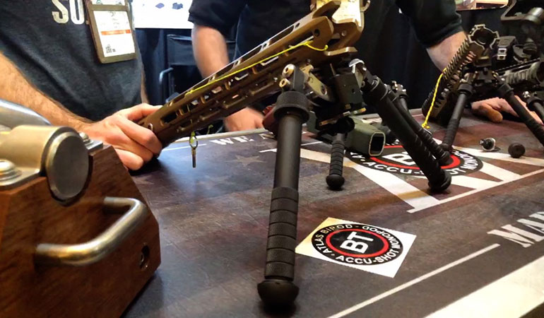 Accu-Shot Monopods and Atlas Bipods from B&T Industries