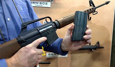 Joe Kriz speaks with Brownells Public Relations Specialist, Roy Hill, about their latest products at SHOT Show 2019.