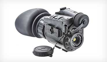 The Breach PTQ136 is FLIR's most compact thermal-imaging monocular.