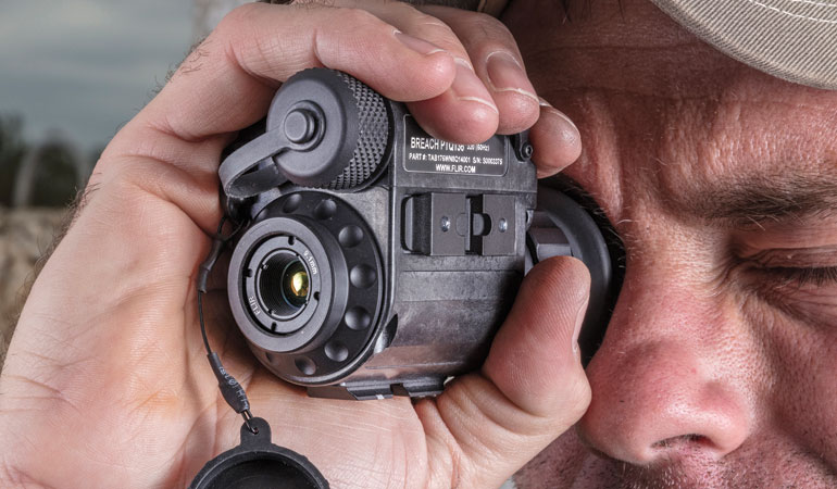 FLIR Systems presents the smallest handheld or helmet-mounted thermal sight.