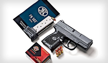 FN challenges the subcompact, single-stack 9mm pistol market and enters new territory with the 503.