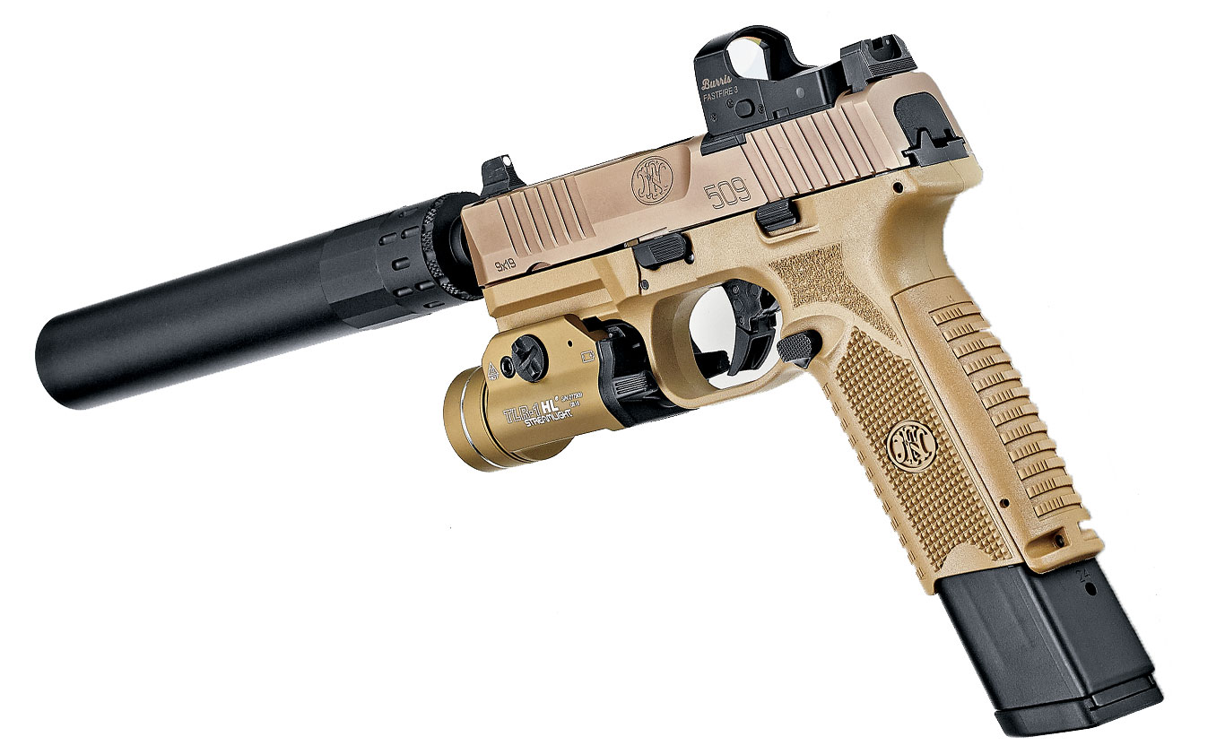 The FN 509 Tactical - A Game Changer For Optics-Ready 9mm Pi