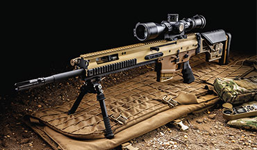 Evaluating the FN SCAR 20S, the commercial variant of the U.S. military's Mk 20 SSR.