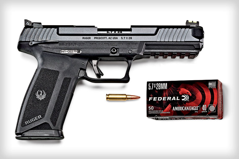Ruger 57 and Speer 5.7x28mm Ammo - Trending!