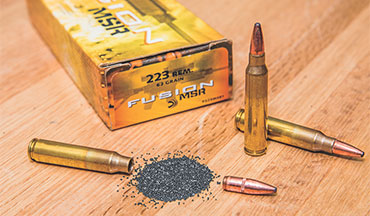 Federal Premium Fusion MSR .223 is the ideal low-cost hunting ammo for the AR-15 platform.