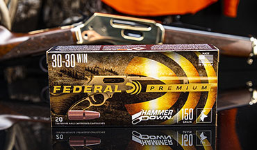Federal's new Hammer Down ammo is designed for optimal cycling and performance in the lever-gun platform.