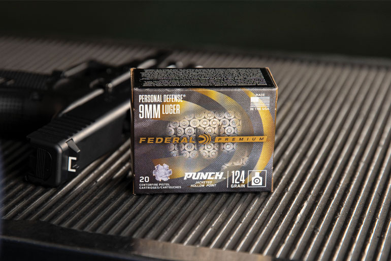 Federal Punch Defensive Handgun Ammo — New for 2020