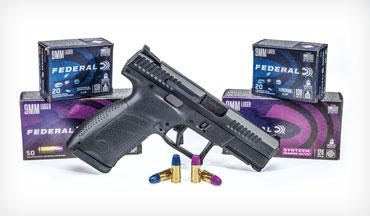 The new Federal Syntech Defense and Training Match loads push the Syntech line into bold new territory.