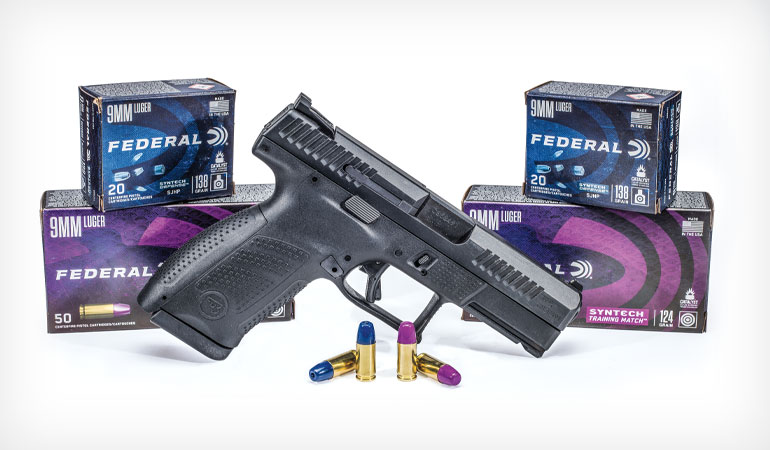 Federal Syntech Defense and Training Match Pistol Ammo