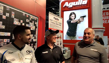 A group of competitive shooters talk about new products from Aguila , the Aguila Cup, and everyone's favorite new guns launched at the 2019 SHOT show.