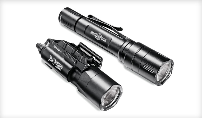 Training with Flashlights for Home Defense