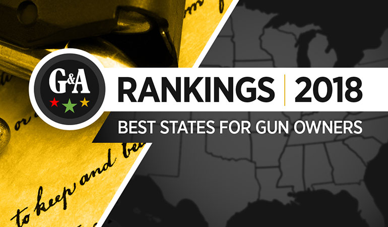 Best States for Gun Owners (2018)
