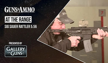 Tom Beckstrand visits the SIG Sauer Academy to learn more about the development of the SIG MCX Rattler in 5.56 NATO with Mike Joslin, SIG Sauer's assistant rifle product manager.