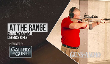 Rifles & Optics Editor Tom Beckstrand discuss the Hornady rifle line of Critical Defense ammunition.