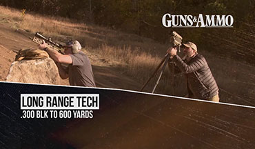 Armed with SIG Sauer's 9-inch-barreled MCX Virtus Pistol loaded with Black Hills' 125-grain TMK ammunition, Beckstrand attempts to ring steel at 600 yards with help from Hornady's 4DOF ballistic calculator in this segment of