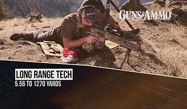 "Guns & Ammo Rifles & Optics Editor Tom Beckstrand was on location in Idaho where he pushed the limits of the 5.56 NATO cartridge in this segment of ""Long Range Tech"" for Guns & Ammo TV."
