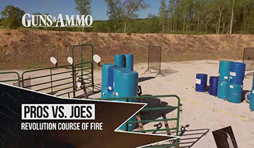 "For this segment of ""Pros vs. Joes,"" Guns & Ammo heads back to Revolution Targets in Loganville, Georgia, to evaluate various firearms through a series of practical steel challenges."