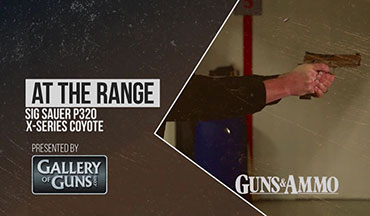 "In this ""At The Range"" segment, SIG Sauer Pistol Product Manager Phil Strader explains the development of the Coyote X Series to Guns & Ammo's Tom Beckstrand."