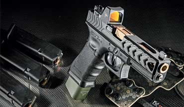 Overhauling a Gen 4 Glock 17 with high-end components leads to a pistol with a sight that's faster to pick up and is better shooting.