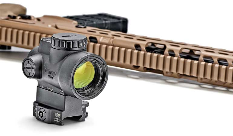 The Green Dot Trijicon MRO