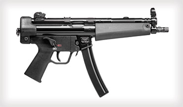 Heckler & Koch is proud to announce the US availability of the HK SP5 semiauto pistol, the only authentic sporting version of the legendary MP5 submachine gun available.