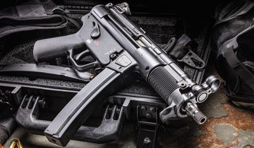 The new HK SP5K-PDW is based on the storied MP5 introduced in 1976. Specifically, it's inspired by the select-fire MP5K.