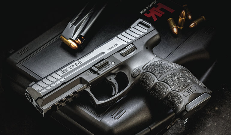HK VP9 B 9mm Pistol Review - Dependable & Long Service Life