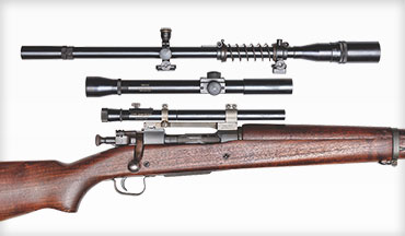Hi-Lux Optics currently offers three period-correct models that would be at home on a M1903A4 and the USMC M1903A1 sniper rifles.