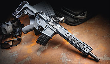 The 6.5 Grendel Highlander from Alexander Arms is short on nothing but size. At 28.5 inches with the brace extended, this power pistol could be the last AR you buy. Here's our review of the AR pistol.