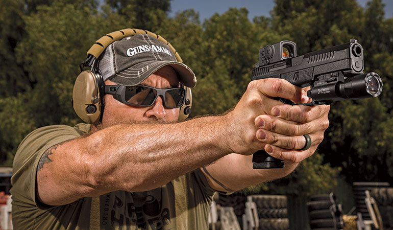 Pistol Considerations for Home Defense