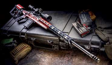 The Model 1500 action has been around for a half century, and the latest variation is the Howa American Flag Chassis Rifle, a precision shooting machine in an APC chassis.