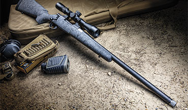 New from Howa is the HS Carbon Fiber rifle, a combination of adding a carbon-fiber barrel to its receiver and dropping the barreled action into the latest H-S Precision stock made from carbon-fiber, Kevlar and fiberglass.