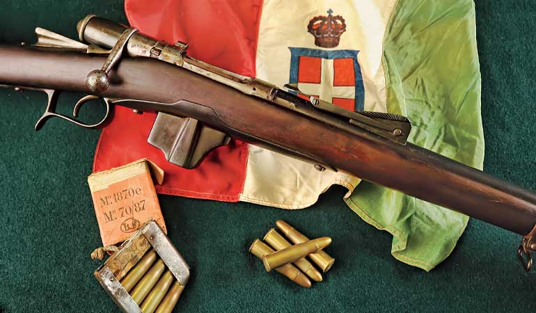 The Italian Vetterli-Vitali Rifle