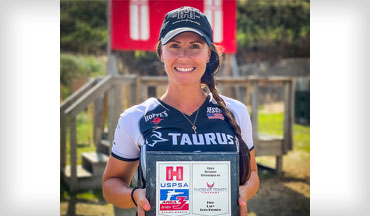 Taurus announced Shooting Team Captain Jessie Harrison captured a big win at the recent USPSA Area 3 Championship held August 2 in Grand Island, Nebraska.