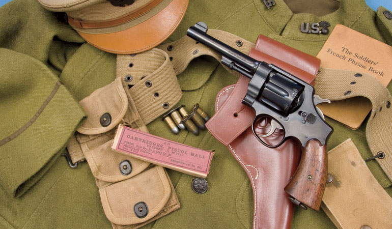 Historical Handguns: The Model 1917 Smith & Wesson Sixgun