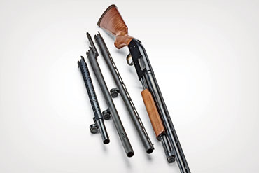 The Mossberg 500's ability to change barrels in seconds makes it one of the most versatile and valuable guns on the market.